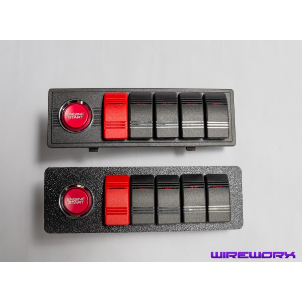 Single Din Switch Panel Snap In Versus Universal Boltin Versions: Race Car Switch Panel Wiring At Shintaries.co