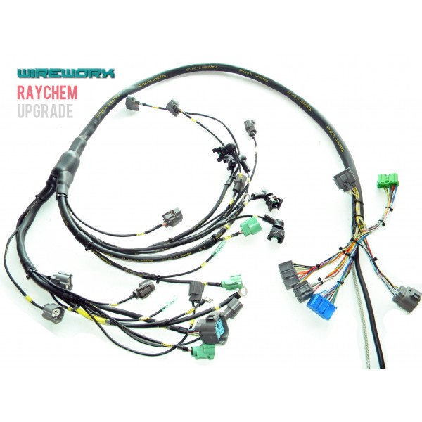 b series non milspec engine harness wireworx rh wire worx com h22 eg wiring harness h22 eg wiring harness