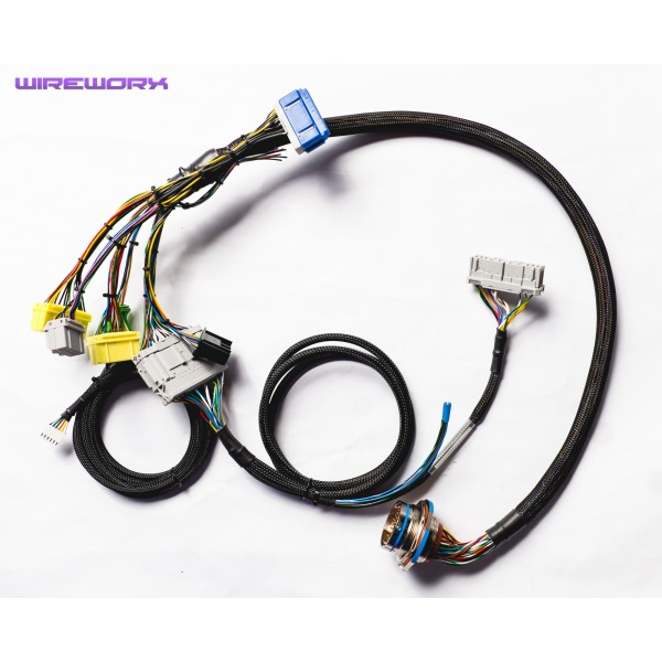 h series braided milspec engine harness wireworx